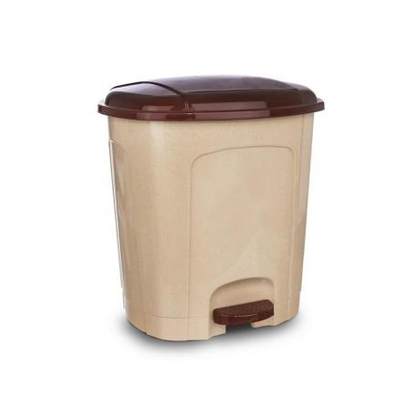 Kôš odpadkový ORION 11,5l s pedálom béžovohnědý