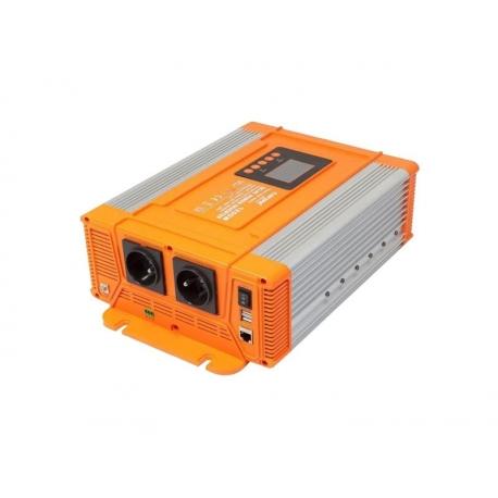 Menič napätia CARSPA PX1200 12V/230V 1200W čistá sínusoida