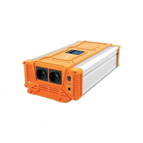 Menič napätia CARSPA PX2000 24V/230V 2000W čistá sínusoida