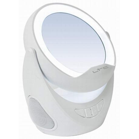 Bluetooth batériový reproduktor so zrkadlom a držiakom telefónu * 2x3W