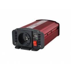 Menič napätia CARSPA CAR300 12V/230V 300W USB
