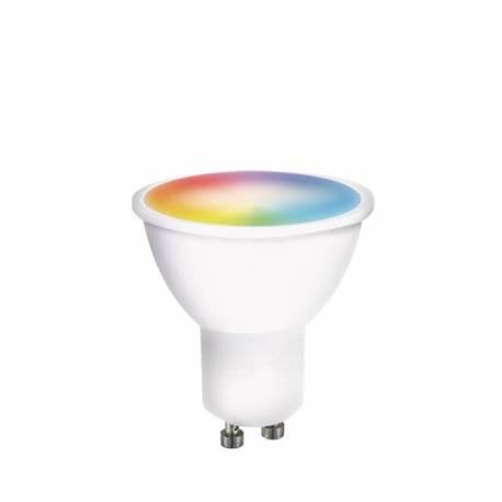Múdra WiFi žiarovka LED GU10 5W RGB SOLIGHT WZ326
